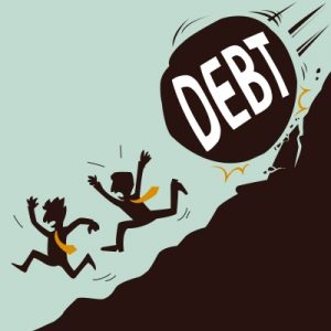 battling debt