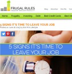 20150621 - 5 signs it's time to leave your job Frugal Rules