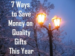 save money on quality gifts