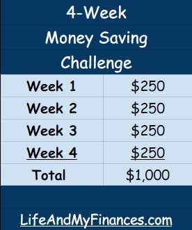 How to Save Up $1,000