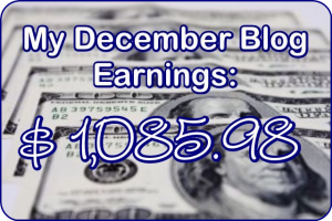 December 2016 Blog Earnings