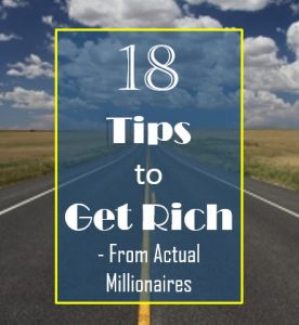 Tips to Get Rich