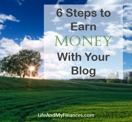 start earning money with your blog