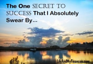 one secret to success