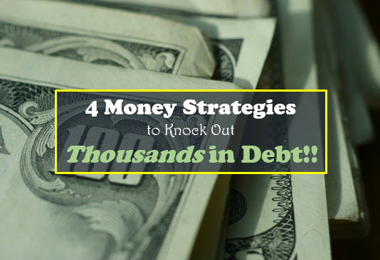 knock out thousands in debt