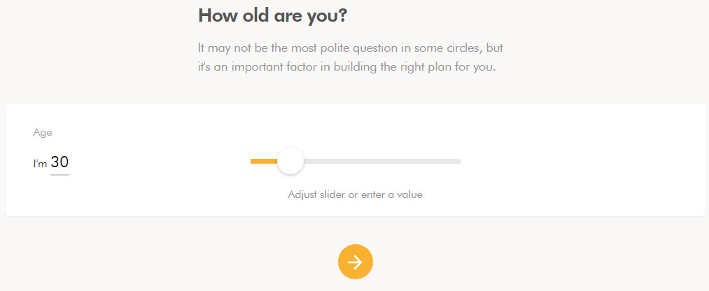 Wealthsimple how old are you