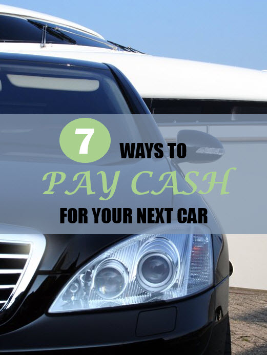pay cash for your next car