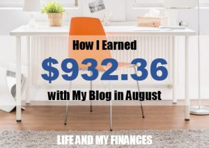 blog income reports August 2017
