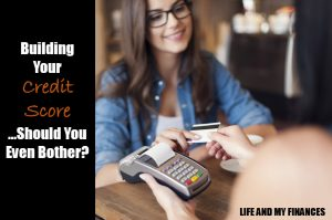 building your credit score