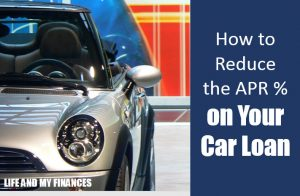reduce the APR on your car loan