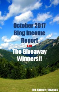 october 2017 blog income report