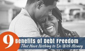 benefits of debt freedom