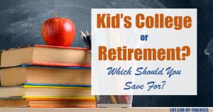 college or retirement