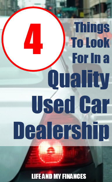 things to look for in a quality used car dealership
