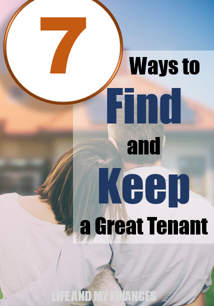 find a keep a great tenant