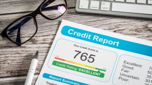 high credit score has nothing to do with wealth
