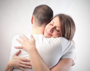 financial infidelity couple making up
