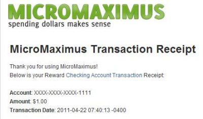 MicroMaximus Transaction