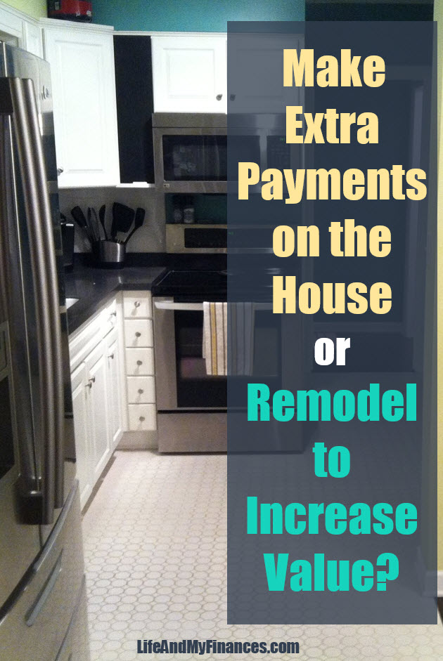 Wondering if you should make extra payments on the mortgage or remodel? This scenario might help!
