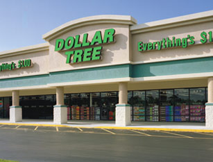 from the dollar tree