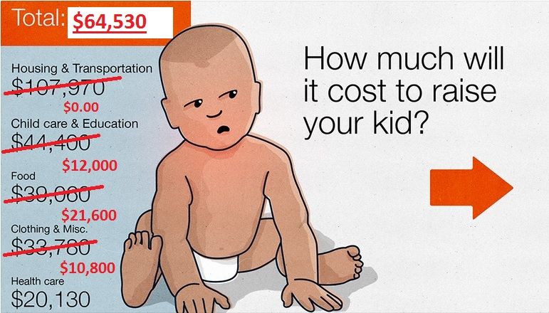 cost to raise a kid 2