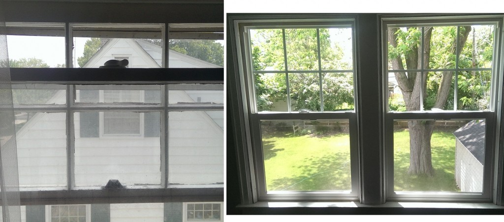always diy - old windows new windows