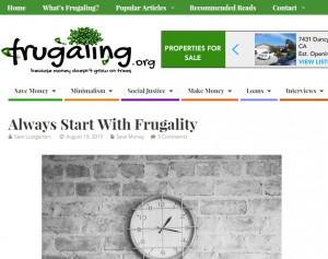 20150830 - frugaling