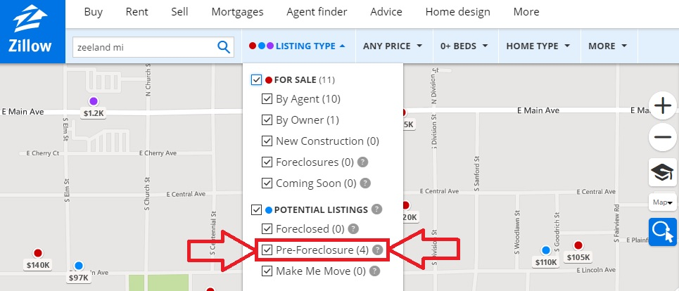 find a deal on real estate