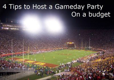 host a gameday party on a budget