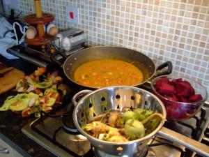 cooking healthy foods