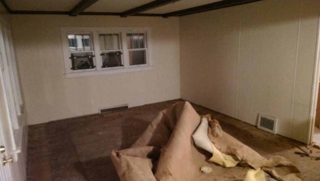 Living Room Carpet Up