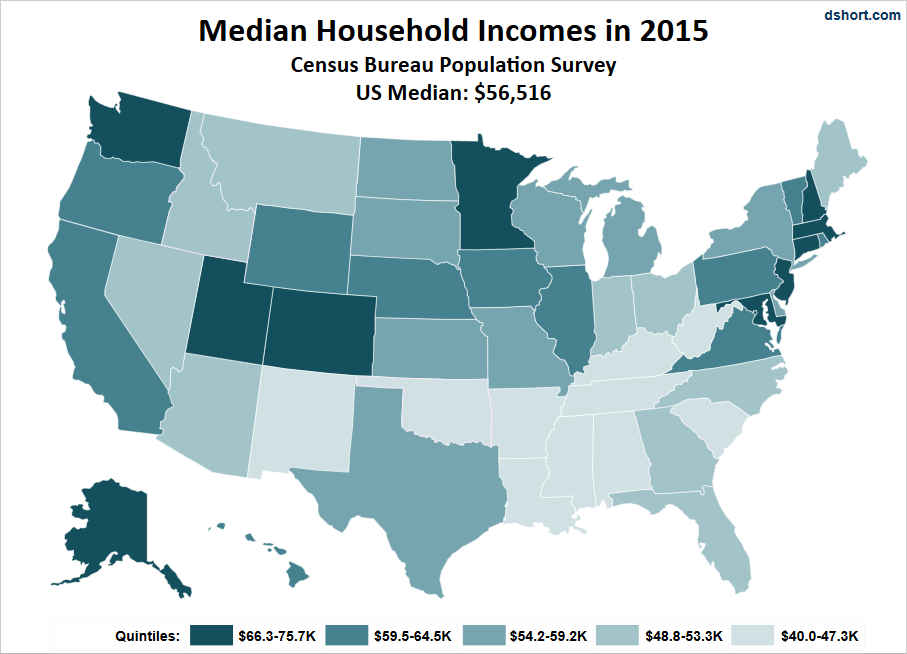 Is Your Income Better Than Average? Check It Out By State