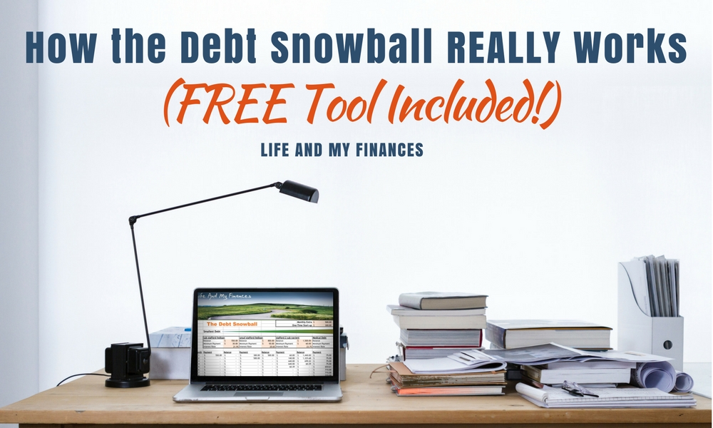 31 day money saving challenge - debt snowball tool