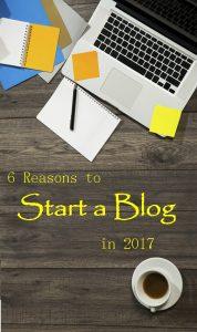 Start a Blog in 2017