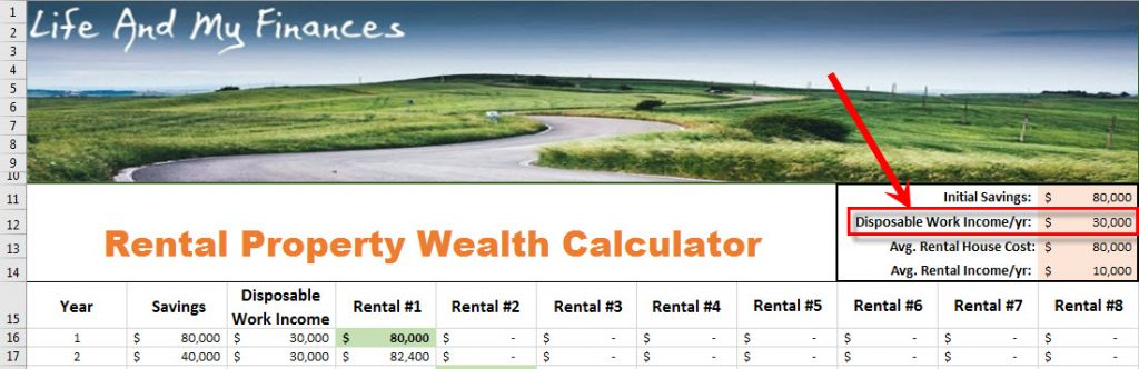 rental property wealth calculator