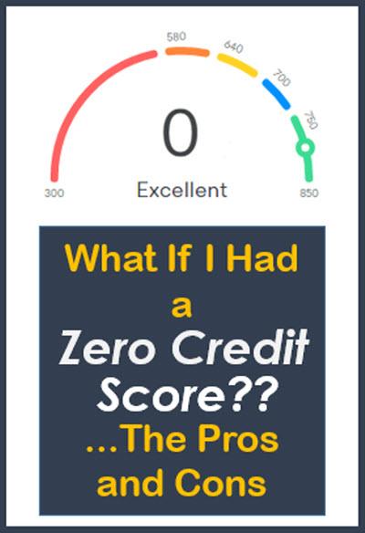 zero credit score