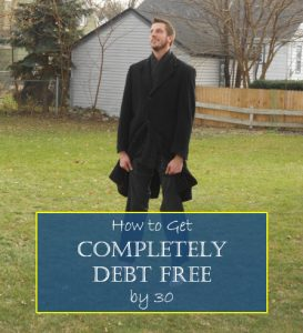 completely debt free