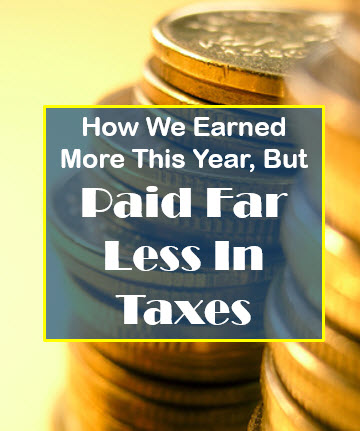 Paid Far Less In Taxes