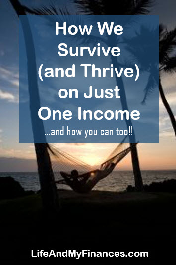 Just One Income