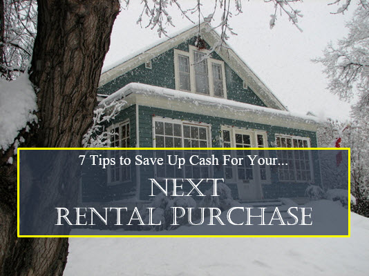save up cash for your next rental purchase