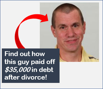 debt after divorce