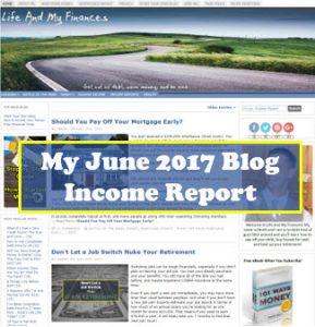 june 2017 blog income