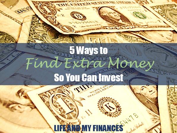 Find extra money