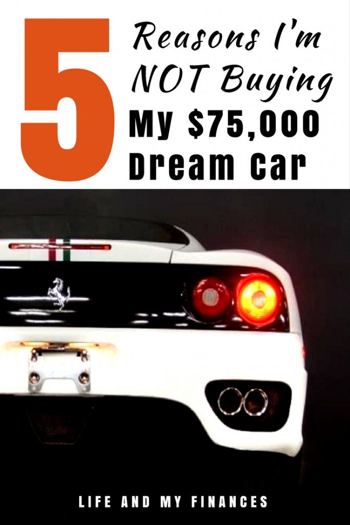 buying my dream car