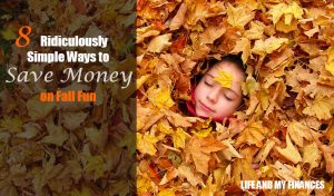 save money on fall fun