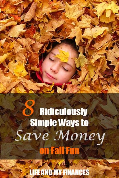 save money on fall fun
