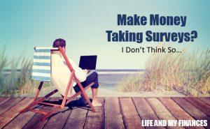 make money by taking surveys