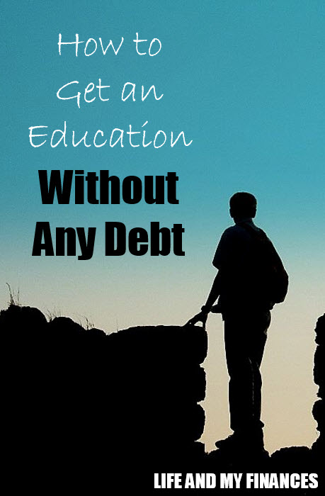 get an education without debt