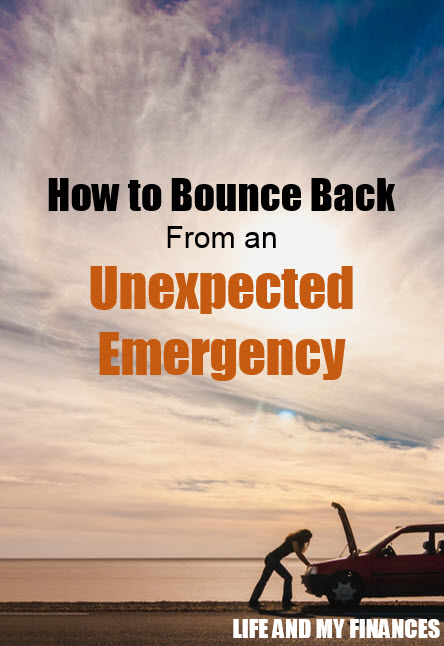 bounce back from an emergency