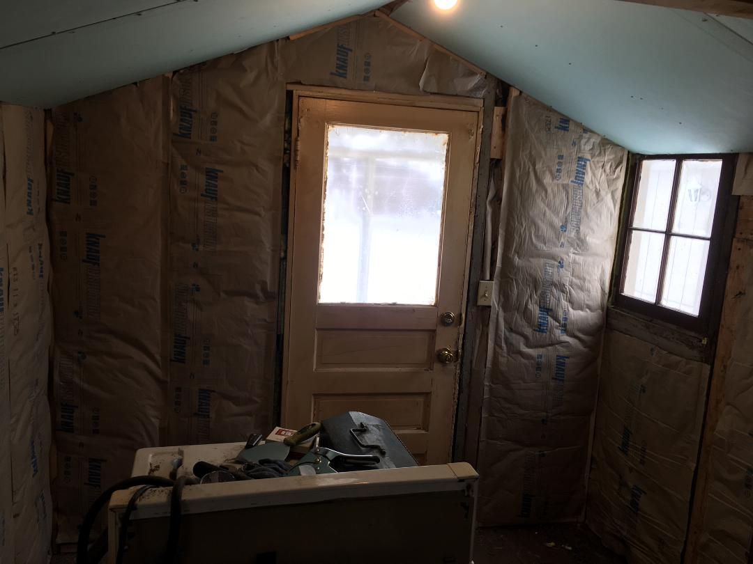 rental house project - insulation